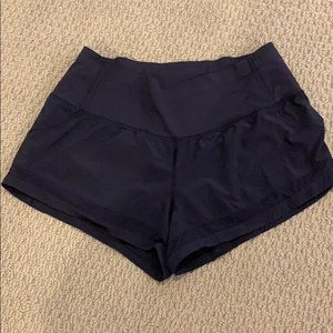 Lululemon Running Shorts (navy) Great Condition